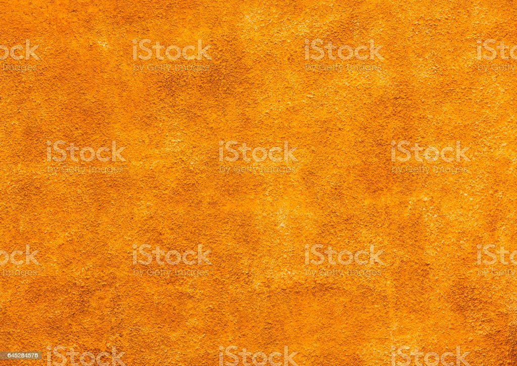 Bright Yellow Wall Background San Miguel de Allende Mexico stock photo