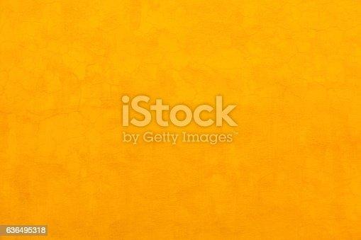 Bright Vibrant Colorful Yellow Wall San Miguel de Allende Mexico