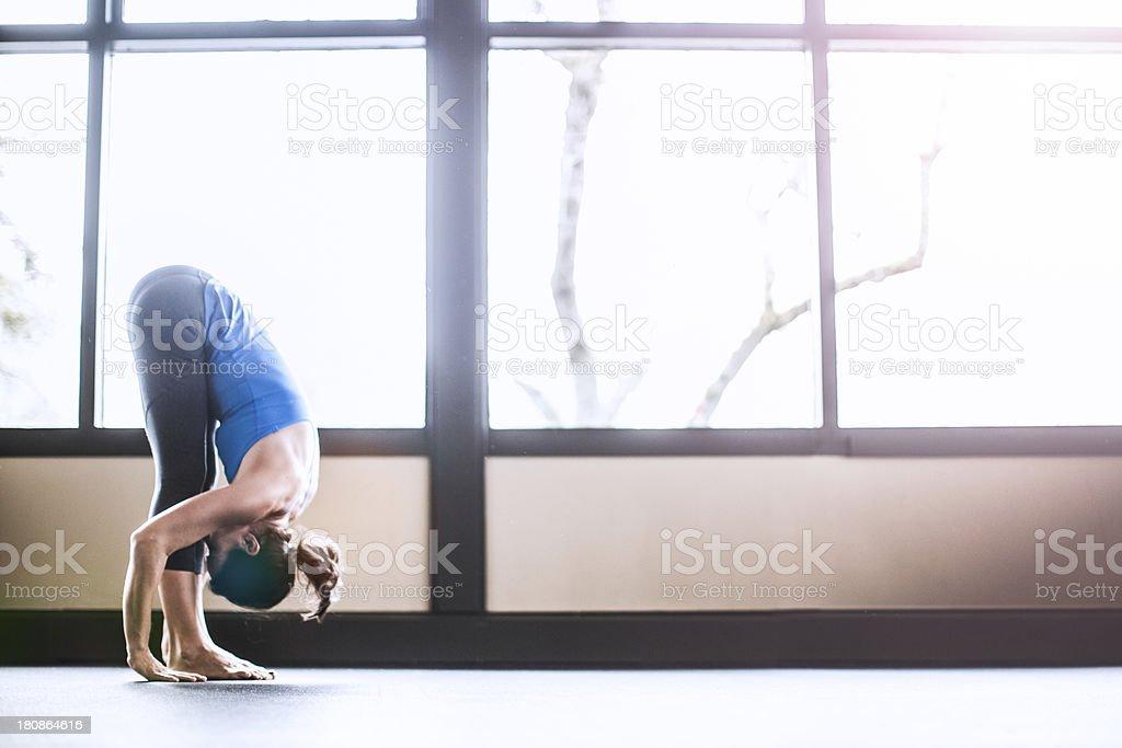 Bright Yoga Studio royalty-free stock photo