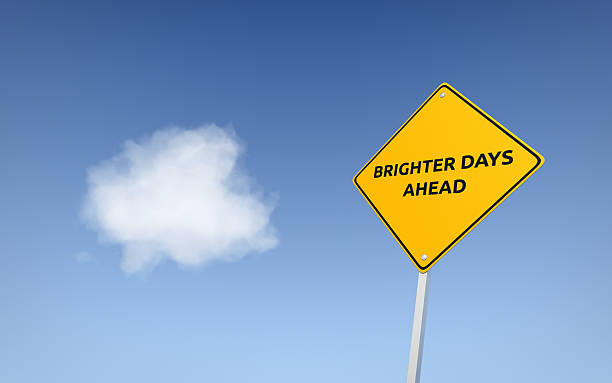Brighter Days Ahead stock photo