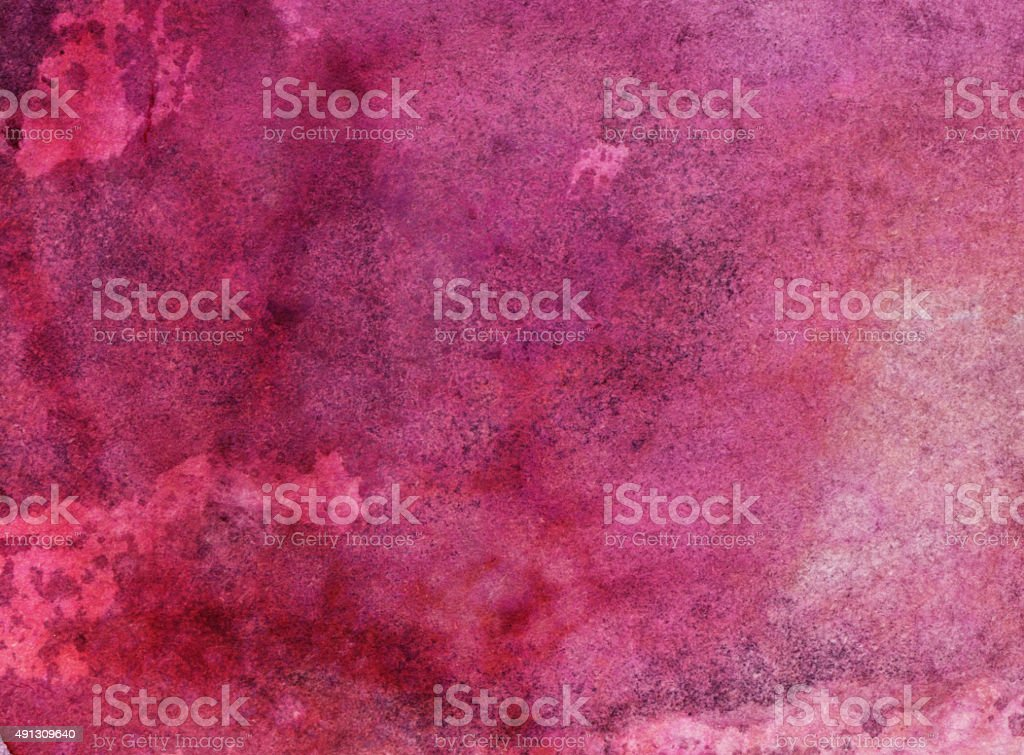 Brightly colored pink textured background on paper stock photo