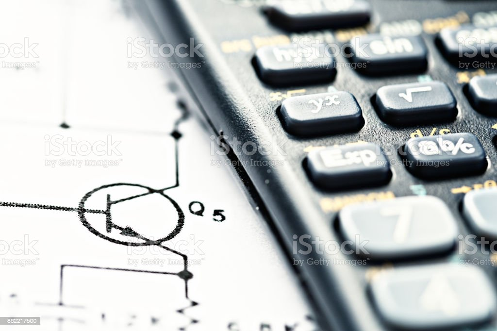 Brightly lit closeup calculator with circuit diagram stock photo brightly lit close up calculator with circuit diagram royalty free stock photo ccuart Images