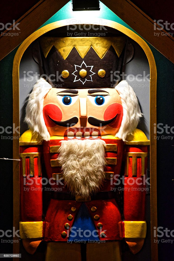 brightly painted fairy-the Nutcracker. royalty-free stock photo