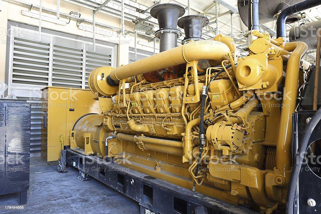 Diesel-Generator – Foto