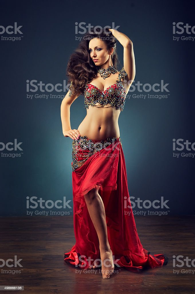 Brightness of dance. stock photo
