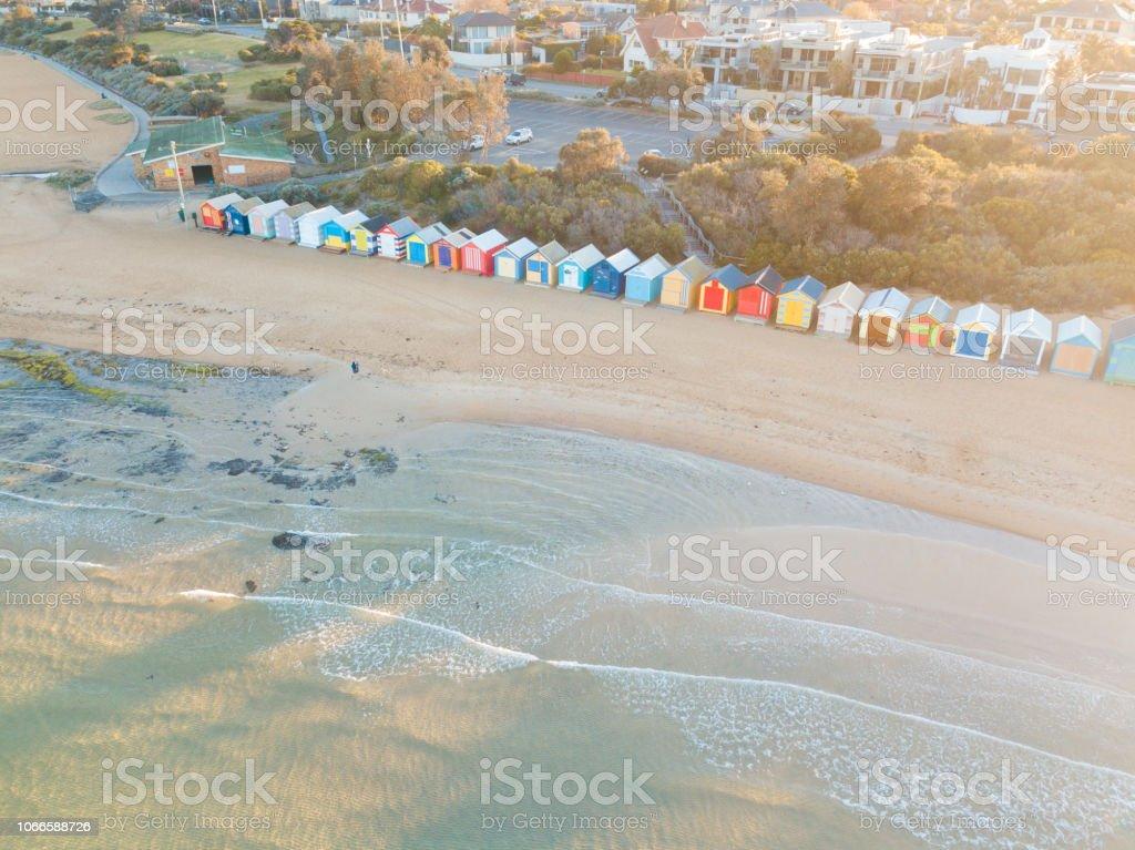 Cabane de plage de Brighton - Photo