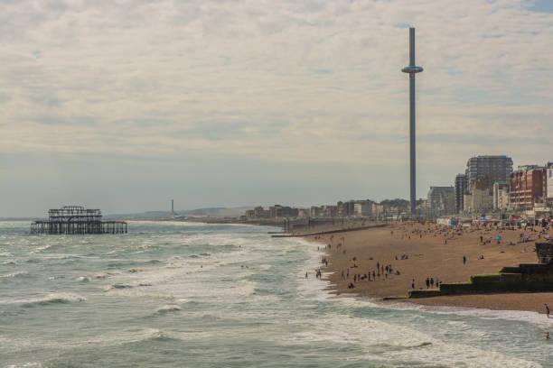 Brighton beach i360 tower and west pier england picture id851824190?b=1&k=6&m=851824190&s=612x612&w=0&h=kwkt8piuduivriwrukaqcuooeon6 bjlukm  otjnwu=
