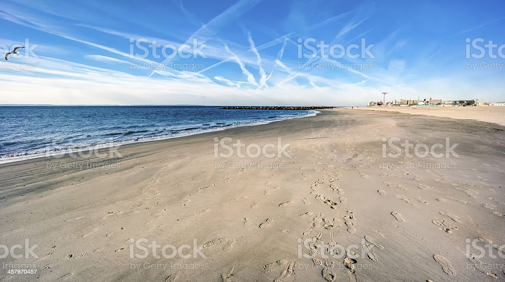 Brighton Beach stock photo
