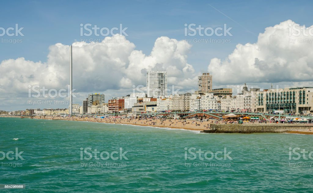 Brighton Beach royalty-free stock photo