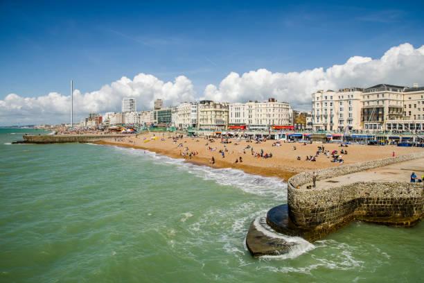 Brighton Beach stock photo