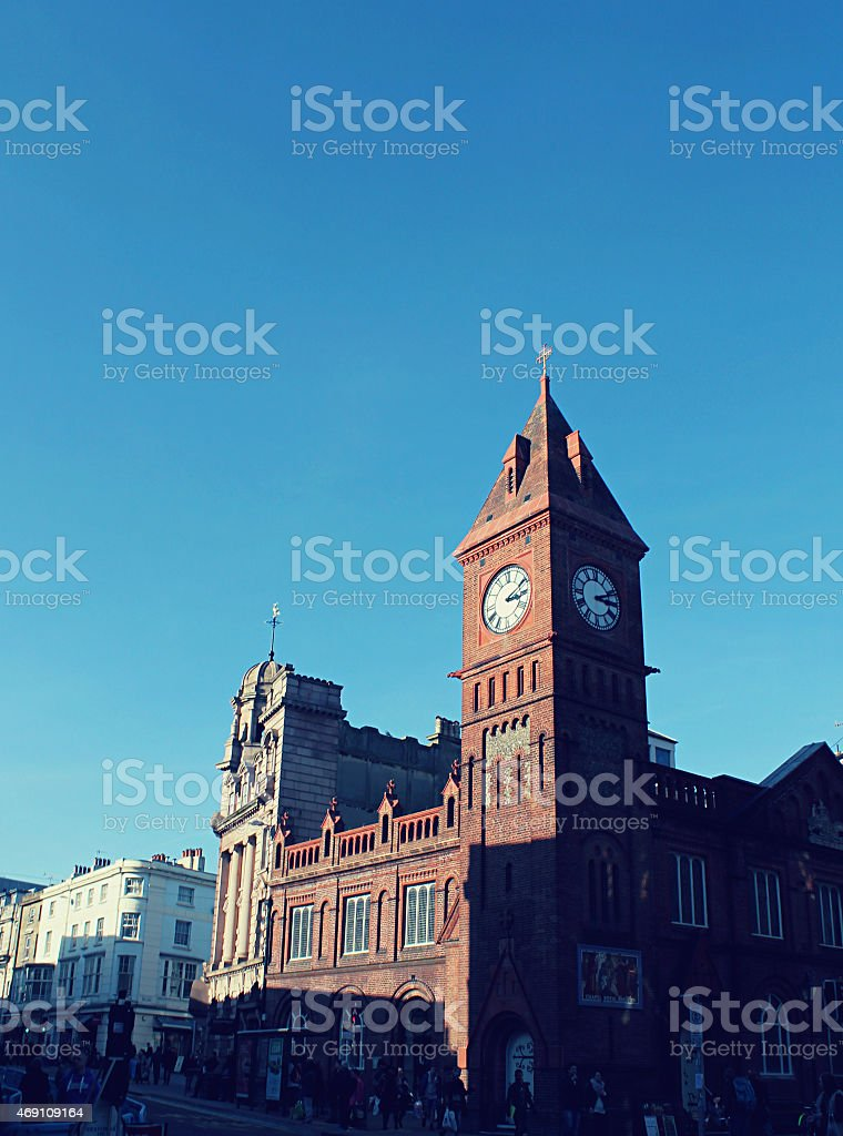 Brighton Clock Tower stock photo
