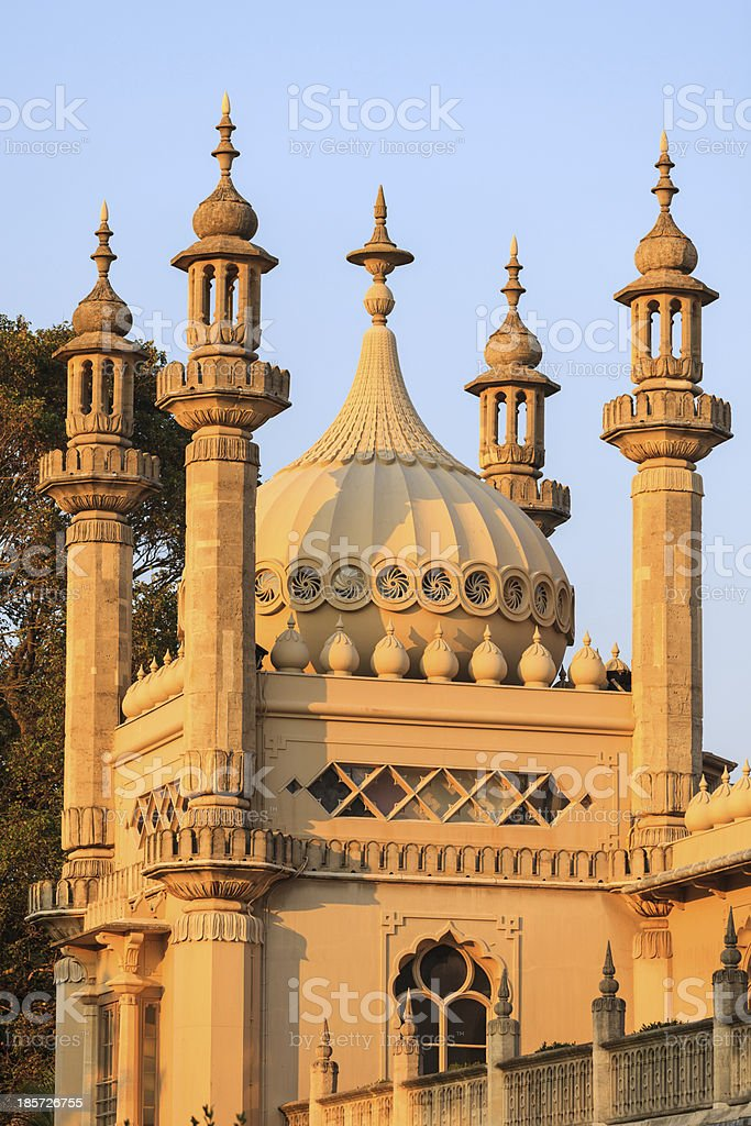 Brighton domes stock photo