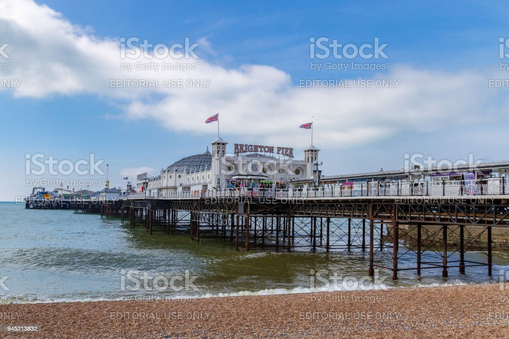 Brighton, East Sussex, UK stock photo