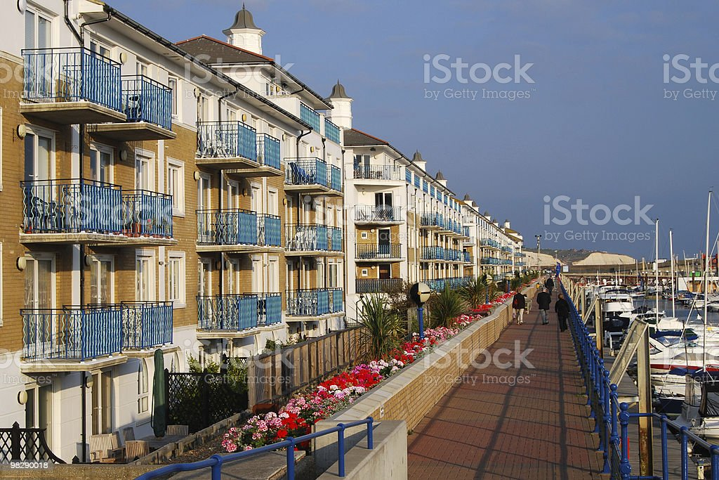 Brighton Marina. East Sussex. England royalty-free stock photo