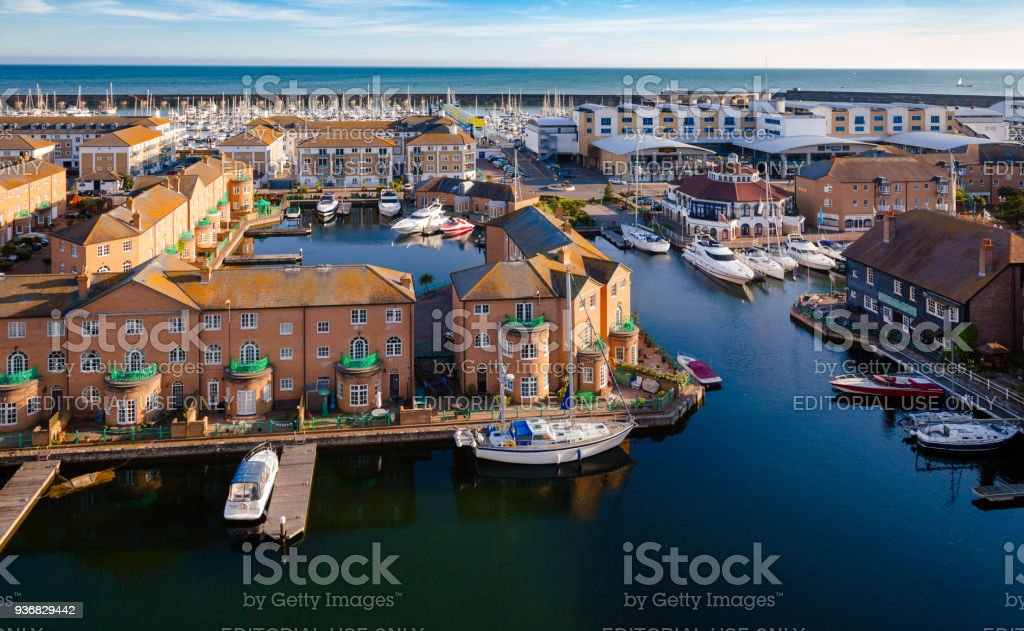 Brighton Marina East Sussex South East England stock photo