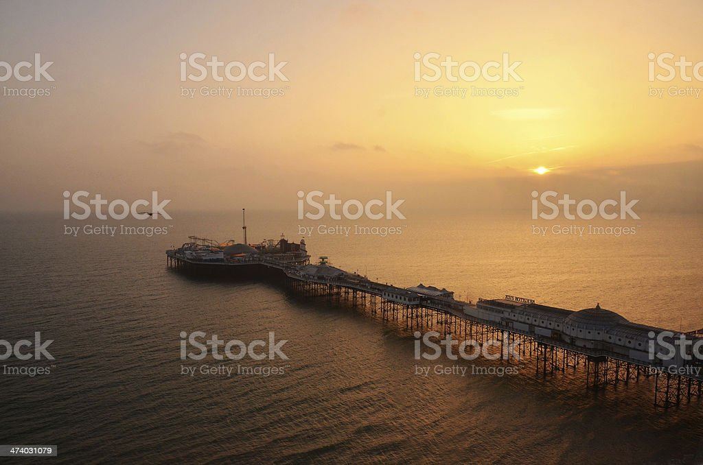 Brighton New Pier stock photo