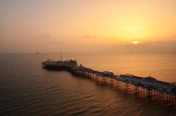 Brighton New Pier stock photo