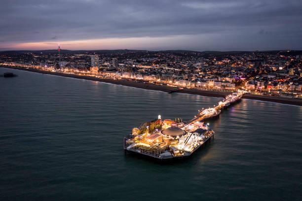 Brighton palace pier illuminated at night along the seafront aerial picture id1192745825?b=1&k=6&m=1192745825&s=612x612&w=0&h= ettqljbjvhuvn2sue0qpzbzmsnrzhygskdpgtedt 4=