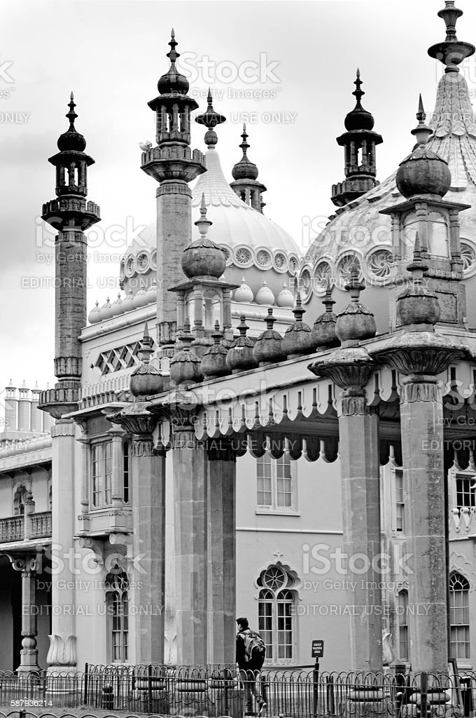 Brighton Pavilion stock photo