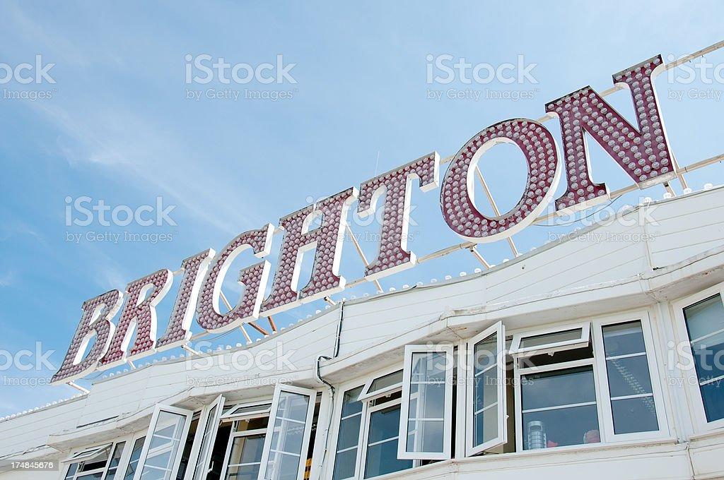 Brighton royalty-free stock photo