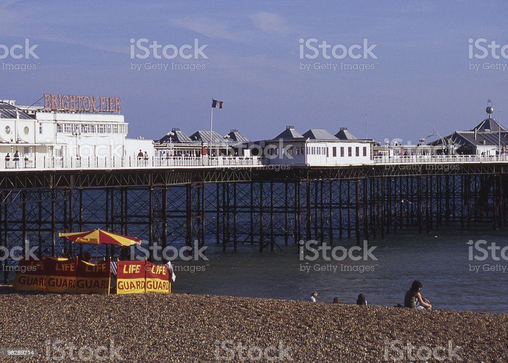 Brighton Pier, East Sussex, England royalty-free stock photo