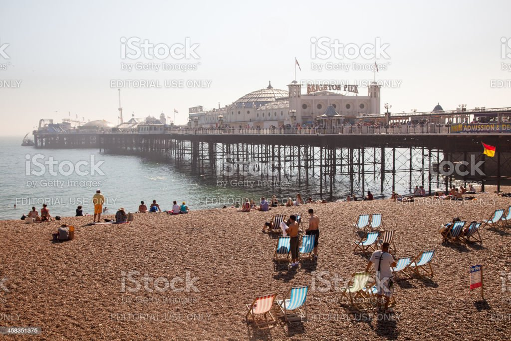 Brighton Pier. England royalty-free stock photo