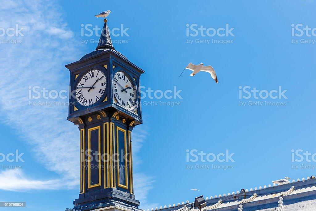 Brighton pier in summer stock photo