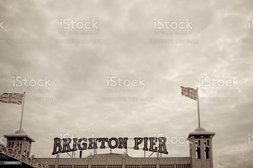 Brighton Pier stock photo