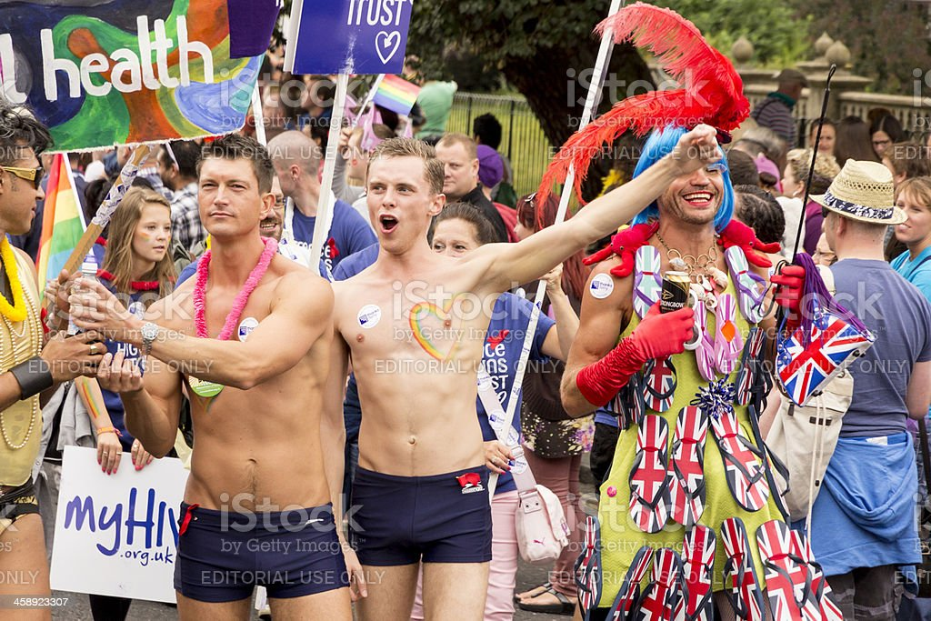 Brighton Pride 2012 royalty-free stock photo