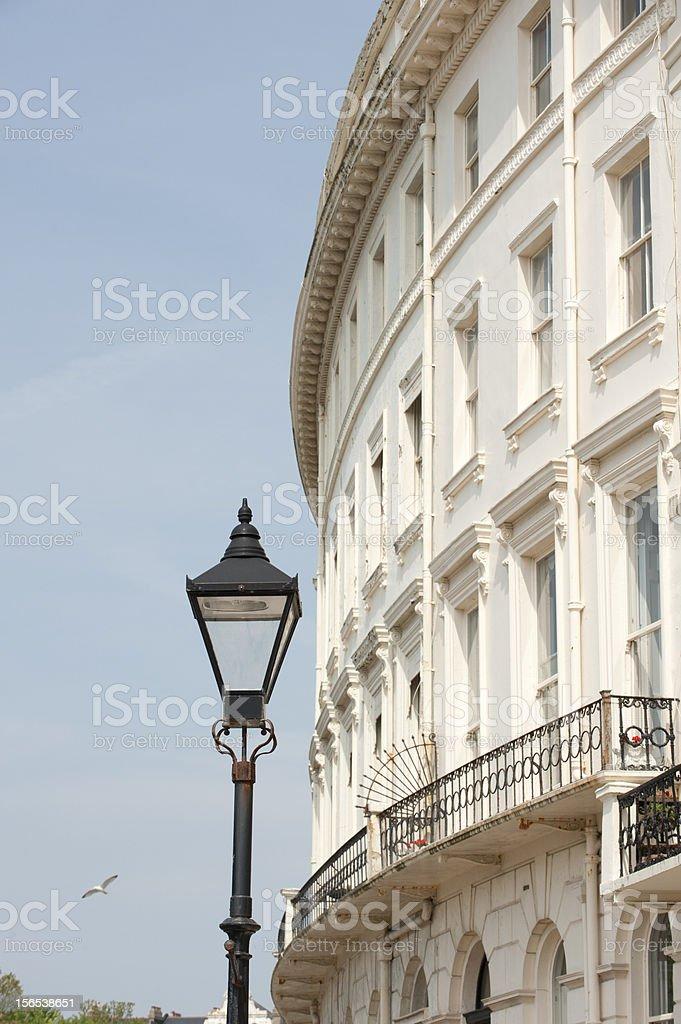 Brighton Residentilal Housing royalty-free stock photo