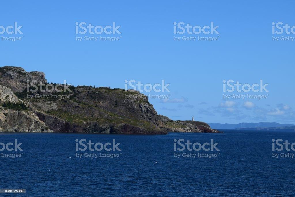 Brigus Leuchtturm Conception Bay Küste Nl Kanada Stockfoto Und Mehr
