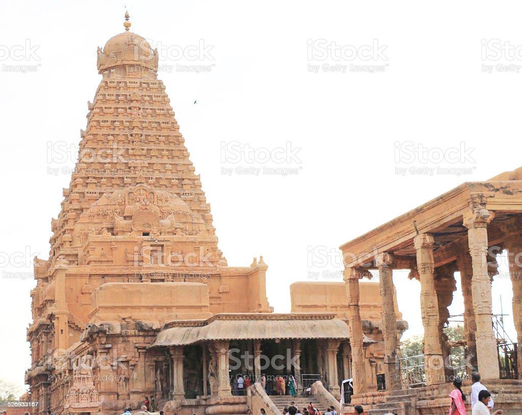 Brihadeshwara Temple And Grounds Tanjore Thanjavur Tamil