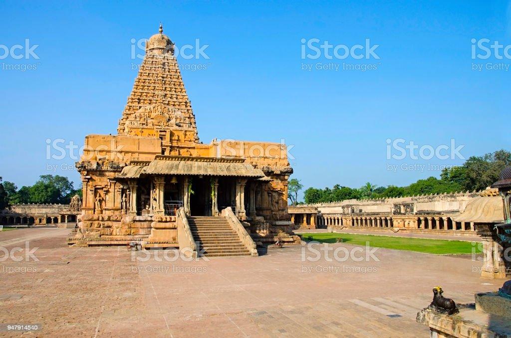 Brihadishvara Temple Thanjavur Tamil Nadu India Hindu Temple