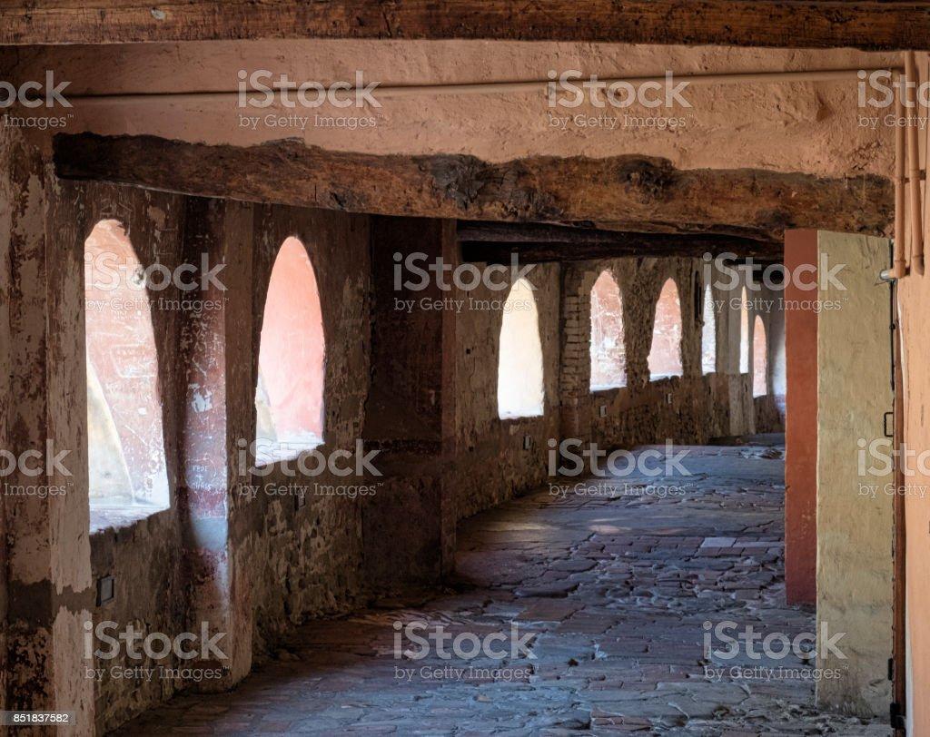 Briighella (Ravenna, Italy): via degli Asini - foto stock