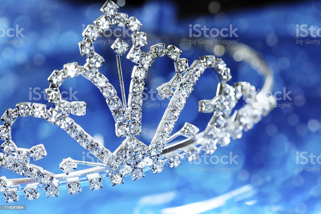 Brillian diadem stock photo