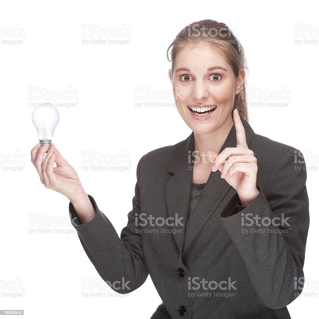 Brilliant businesswoman - Royalty-free Adult Stock Photo