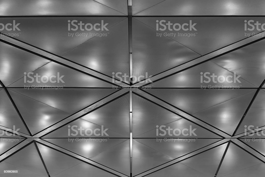 Brilliant ceiling. royalty-free stock photo