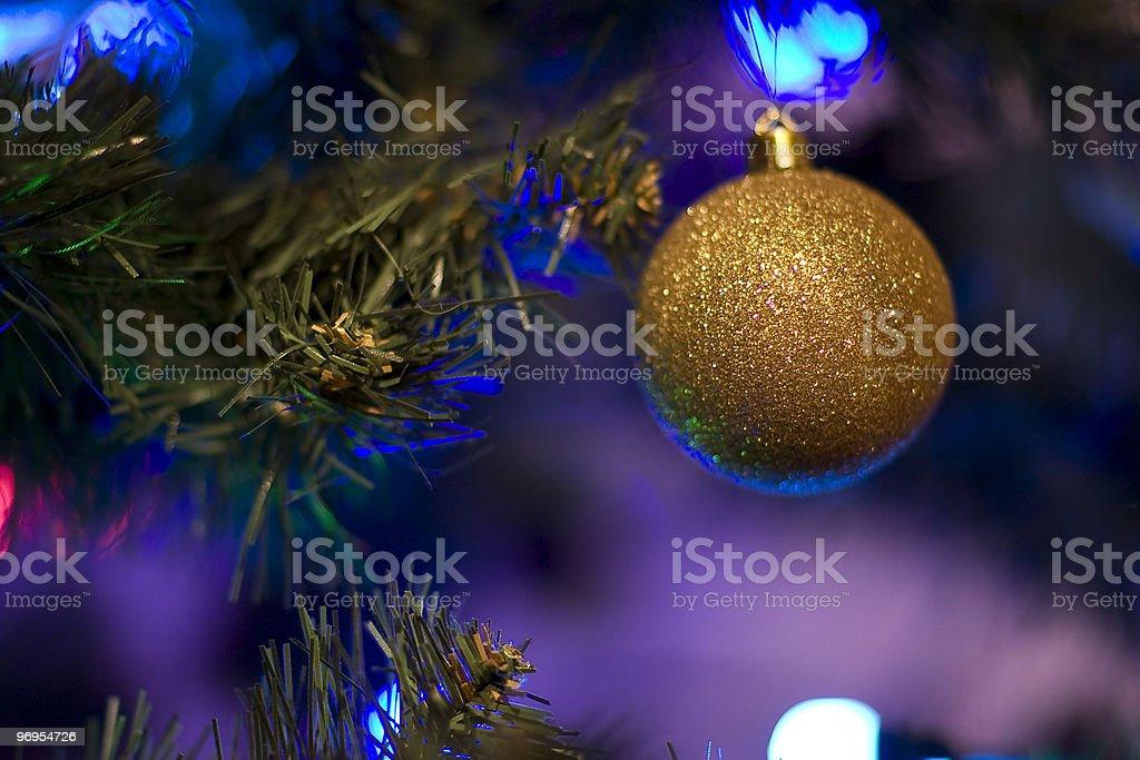 Brilliant Christmas Ball royalty-free stock photo