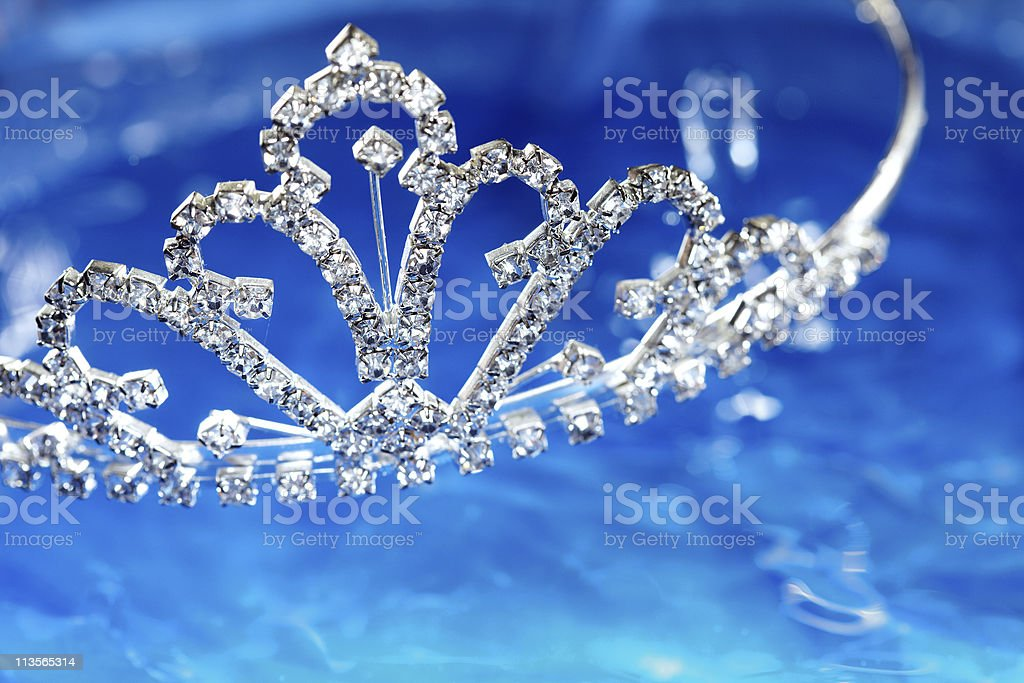 Brilliant diadem stock photo