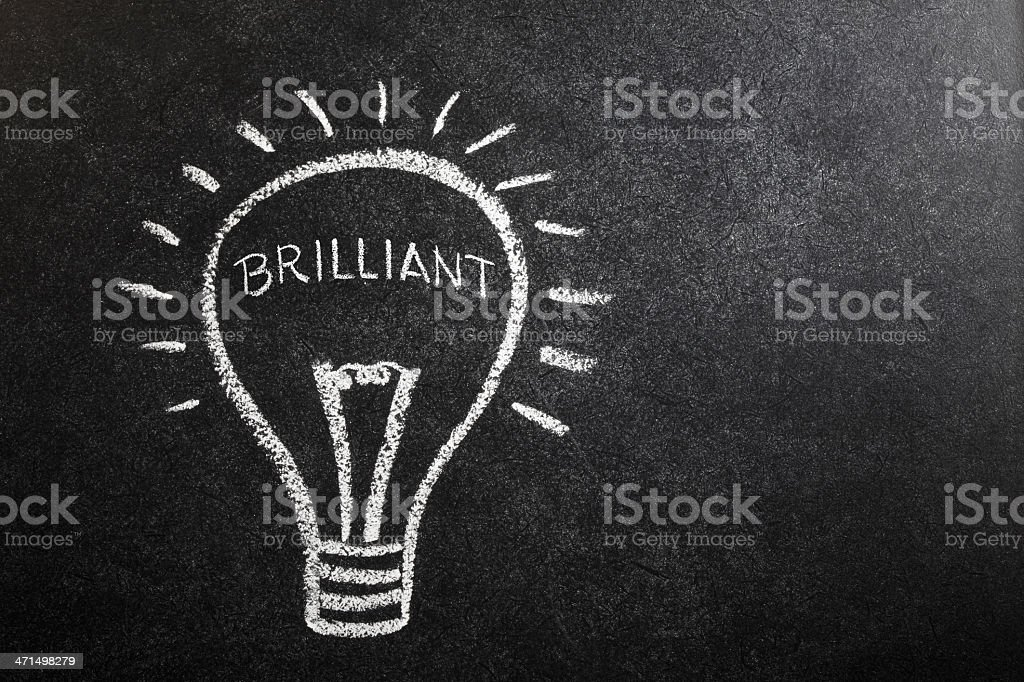 Brilliant Idea royalty-free stock photo