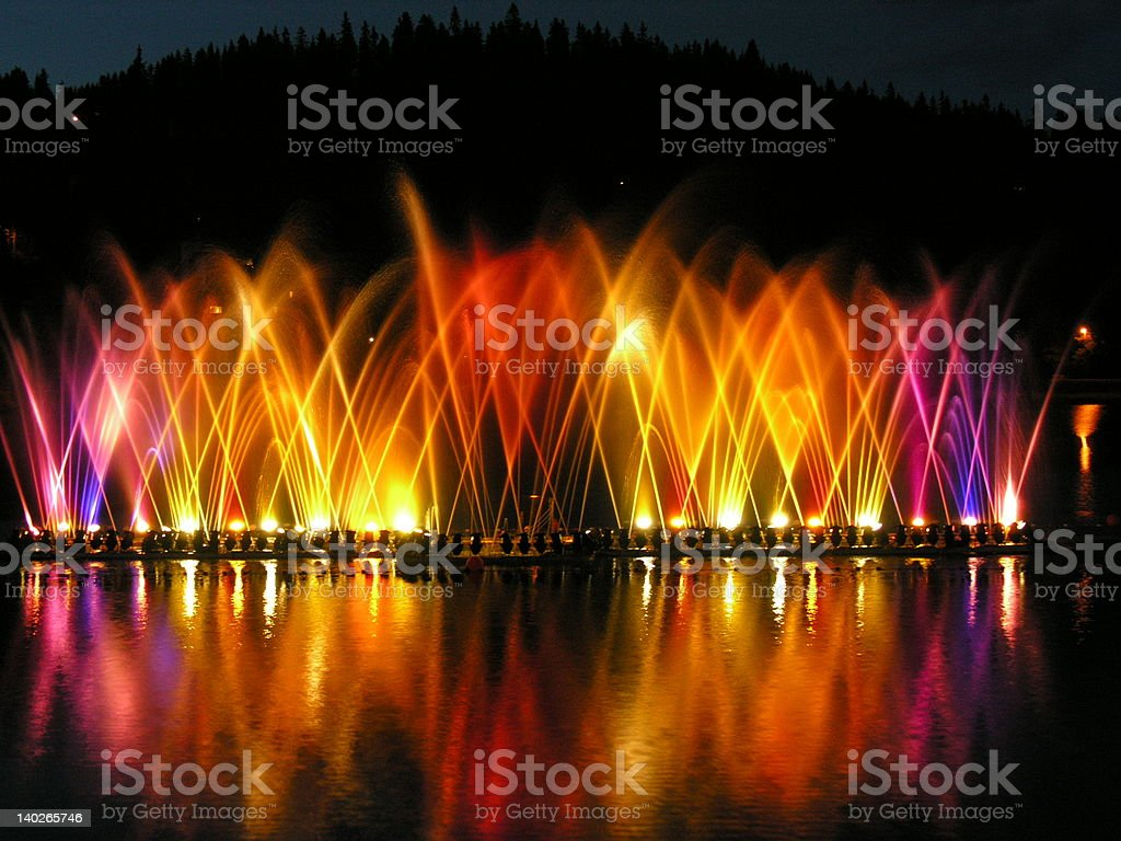 Brilliant Light Show royalty-free stock photo