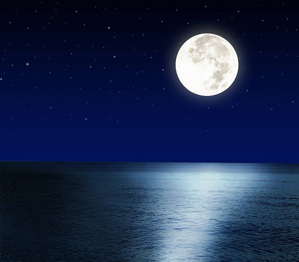 Full Moon Reflection on the Water, Greece, greeksky   Lola ...   Full Moon Reflecting Off Water