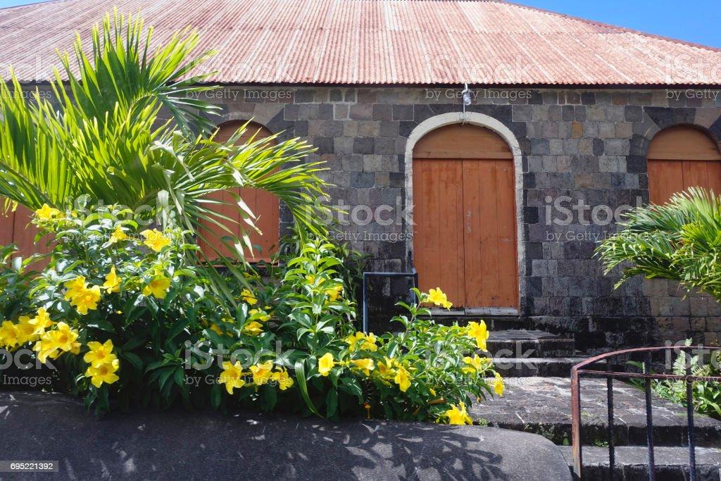 Brimstone Fortress Building stock photo