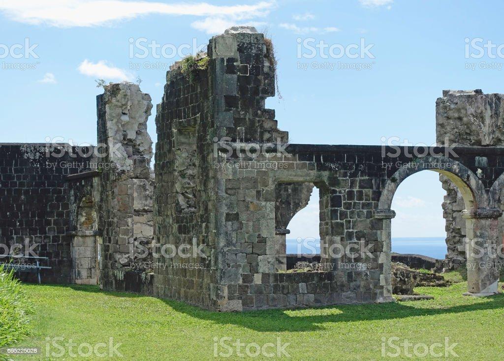 Brimstone Fortress View stock photo