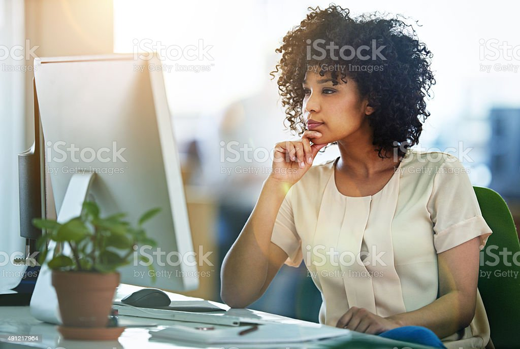 Bring her expertise to design stock photo