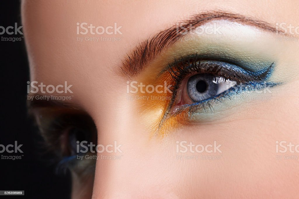 Bring that colour back into your face stock photo
