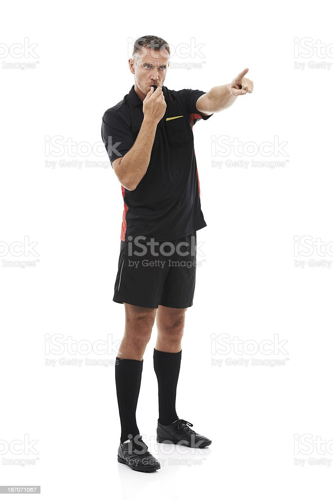 Bring the ball there! royalty-free stock photo