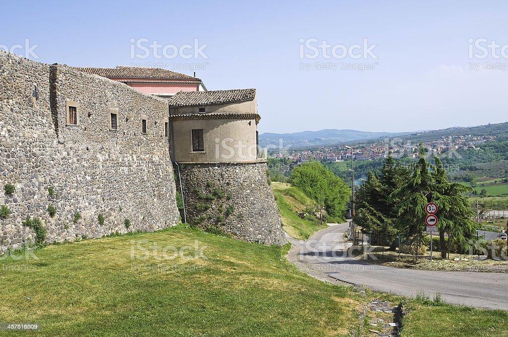 Porta Venosina. Melfi. Basilicata. Italy. royalty-free stock photo