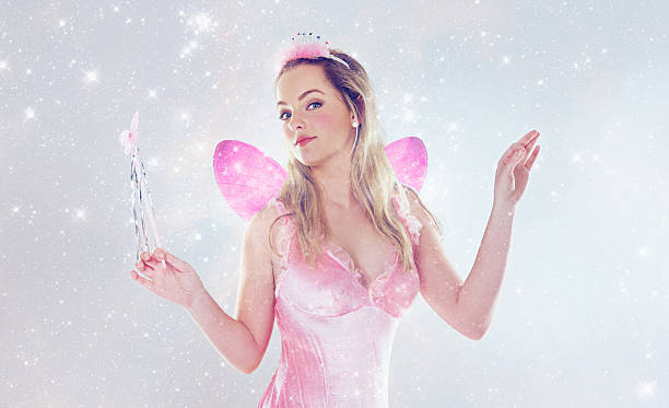 bringing magic to your world - fairy wand stock photos and pictures