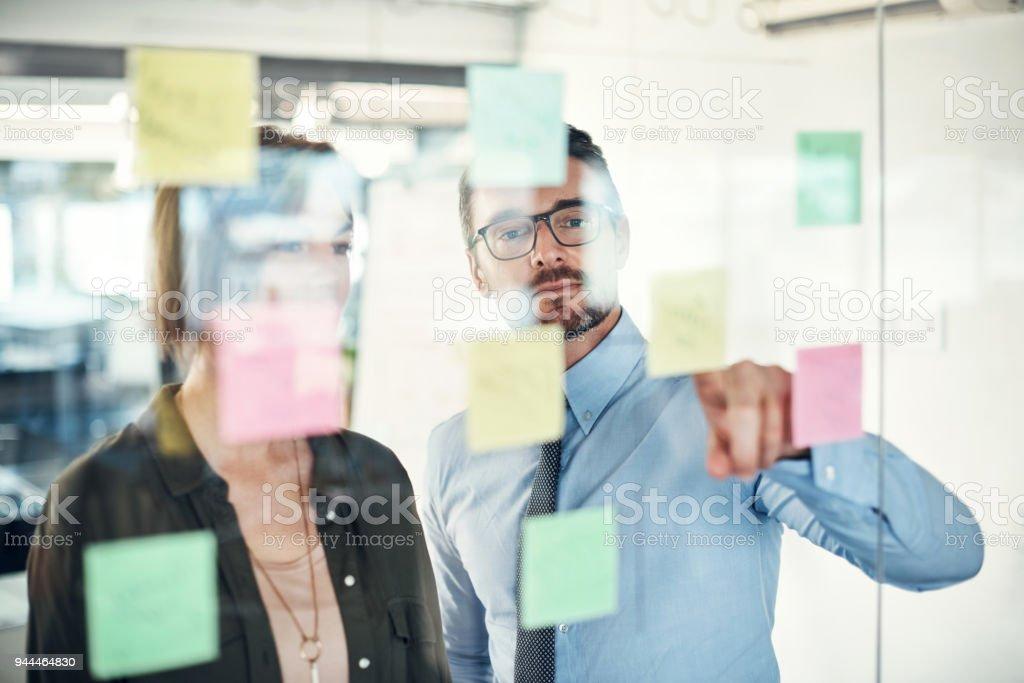 Bringing the best ideas forward stock photo